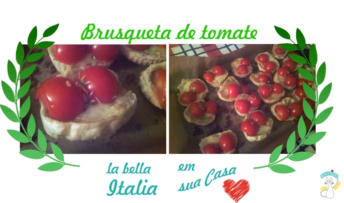 brusqueta de tomate sem glúten