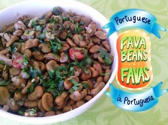 Receita/Recipe: https://arquetipicocozinhainusitada.wordpress.com/2016/04/11/favas-a-portuguesa-portuguese-fava-beans/