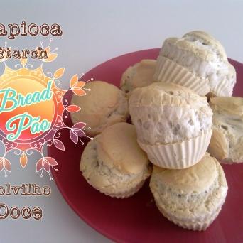 Receita/Recipe: https://arquetipicocozinhainusitada.wordpress.com/2016/04/12/pao-de-polvilho-doce-tapioca-starch-bread/