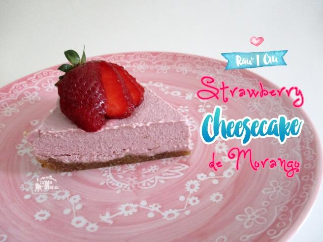 Cheesecake de Morangos - Strawberry Cheesecake
