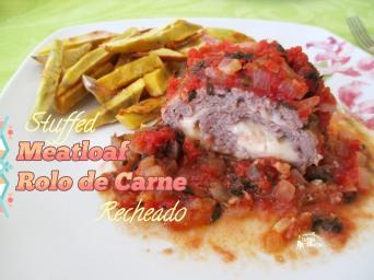 Receita/Recipe: https://arquetipicocozinhainusitada.wordpress.com/2016/05/15/rolo-de-carne-recheado-stuffed-meatloaf/
