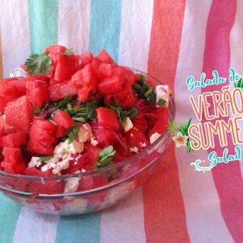 Receita/Recipe: https://arquetipicocozinhainusitada.wordpress.com/2016/05/25/salada-de-verao-summer-salad/