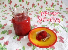 Receita/Recipe: https://arquetipicocozinhainusitada.wordpress.com/2016/06/12/doce-de-morango-strawberry-jam/
