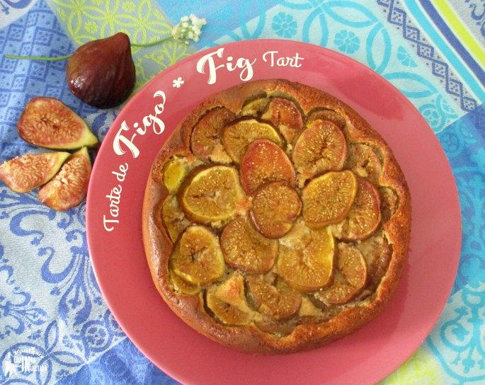 Tarte de figo e amêndoa Fig Almond Tart