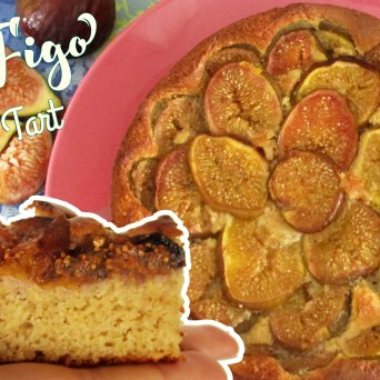 Receita/Recipe: https://arquetipicocozinhainusitada.wordpress.com/2016/07/01/tarte-de-figo-fig-tart/