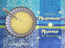 Receita/Recipe: https://arquetipicocozinhainusitada.wordpress.com/2016/09/20/maionese-de-mostarda-em-1-minuto-mustard-mayonnaise-in-1-minute/