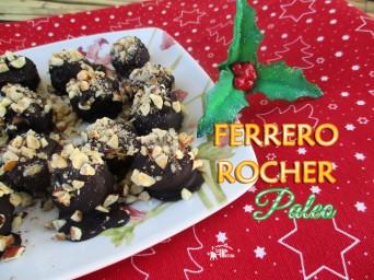 Receita/Recipe: https://arquetipicocozinhainusitada.wordpress.com/2016/12/22/ferrero-rocher-paleo-chocolate-caseiro-de-manteiga-de-cacau-homemade-cacao-butter-chocolate/