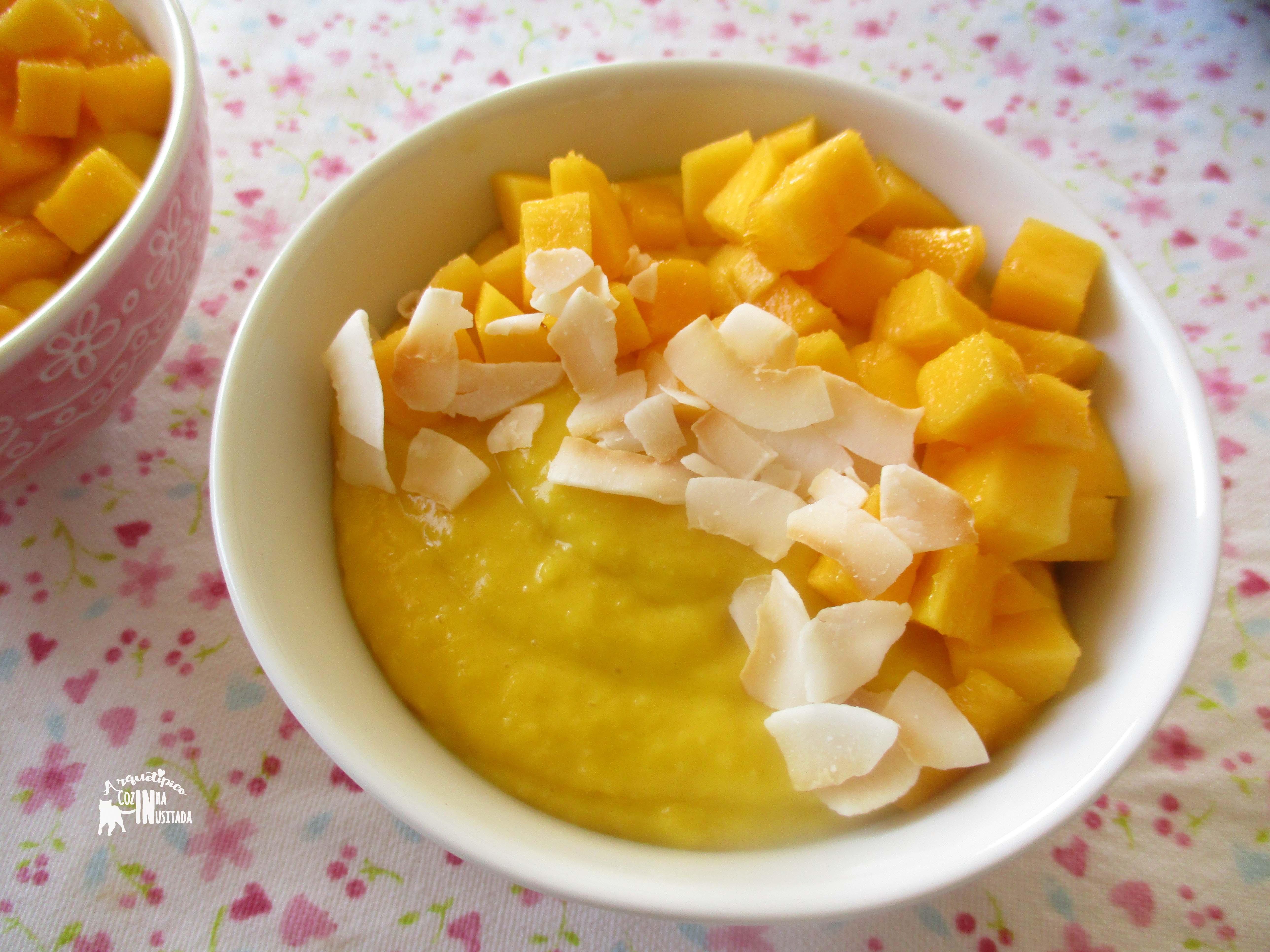 Coconut Mango Mousse Cake