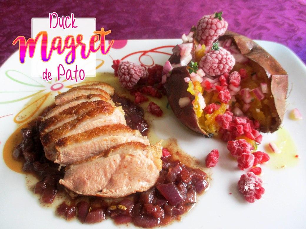 Magret de Pato com vinho do Porto e sementes de funcho - Duck Magret with Port wine and fennel seeds