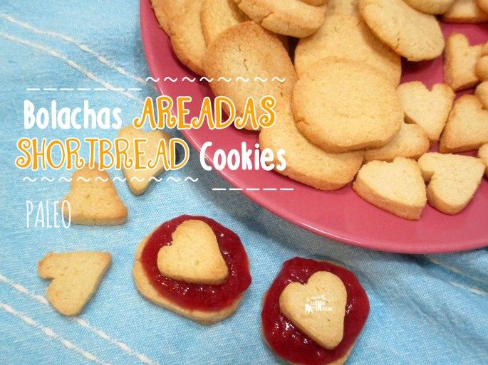 Bolachas Areadas Paleo - Paleo Shortbread Cookies