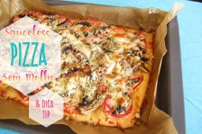 Receita/Recipe: https://arquetipicocozinhainusitada.wordpress.com/2017/07/17/pizza-sem-molho-e-dica-sobre-cogumelos-sauceless-pizza-and-mushroom-tip/