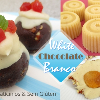 Receita/Recipe: https://arquetipicocozinhainusitada.wordpress.com/2017/11/28/chocolate-branco-paleo-sem-gluten-e-sem-laticinios-paleo-white-chocolate/