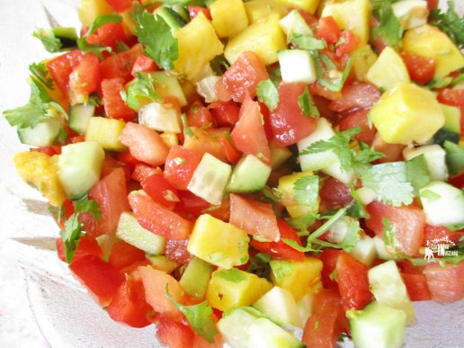 Carapaus Alimados com salada Algarvia - Marinated Horse Mackerel (Portuguese Recipe) Salada