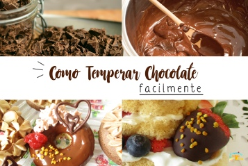 Como Temperar Chocolate facilmente - Guia do Método Seeding
