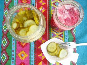 Receita/Recipe: https://arquetipicocozinhainusitada.wordpress.com/2018/05/08/picles-saborosos-e-crocantes-com-vinagre-de-coco-pickles-with-coconut-vinegar/