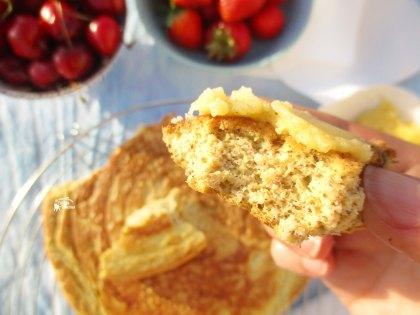 Mega Panqueca de Avelã Lowcarb - Hazelnut Pancake Zoom