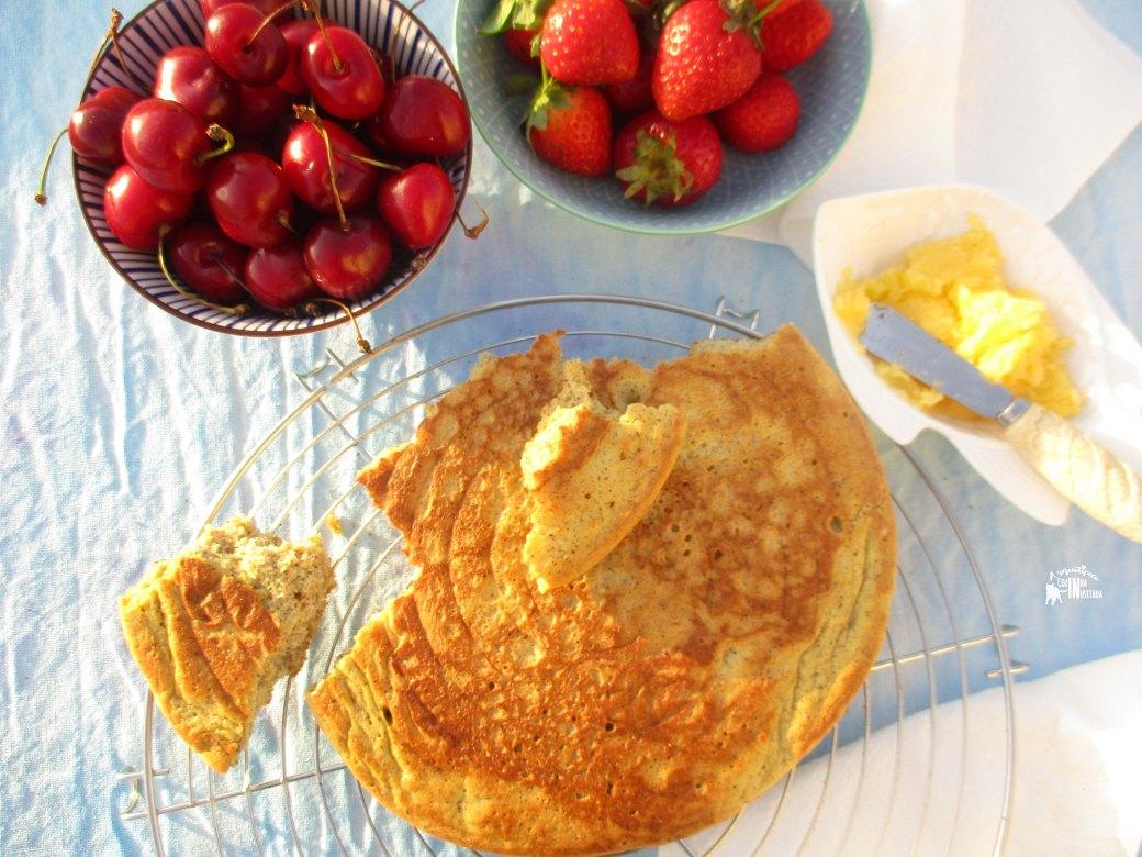 Mega Panqueca de Avelã Lowcarb - Hazelnut Pancake