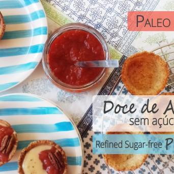 Receita/Recipe: https://arquetipicocozinhainusitada.wordpress.com/2018/07/17/doce-de-ameixas-vegan-paleo-sem-acucar-refinado-refined-sugar-free-plum-jam/