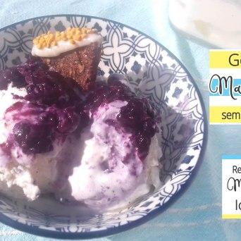 Receita/Recipe: https://arquetipicocozinhainusitada.wordpress.com/2018/08/21/gelado-de-mascarpone-paleo-sem-acucar-paleo-sugar-free-mascarpone-ice-cream/