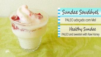 Receita/Recipe: https://arquetipicocozinhainusitada.wordpress.com/2018/09/16/sundae-saudavel-paleo-adocado-com-mel-paleo-healthy-sundae-sweeten-with-raw-honey/