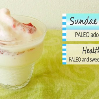 Receita/Recipe: https://arquetipicocozinhainusitada.wordpress.com/2018/09/16/sundae-saudavel-paleo-adocado-com-mel-paleo-healthy-sundae-sweeten-with-raw-honey/