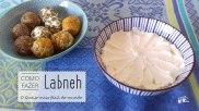 Receita/Recipe: https://arquetipicocozinhainusitada.wordpress.com/2019/01/18/como-fazer-labneh-o-queijo-mais-facil-do-mundo/