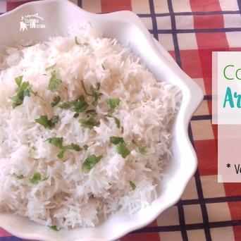 Receita/Recipe: https://arquetipicocozinhainusitada.wordpress.com/2015/11/04/como-fazer-arroz-solto/