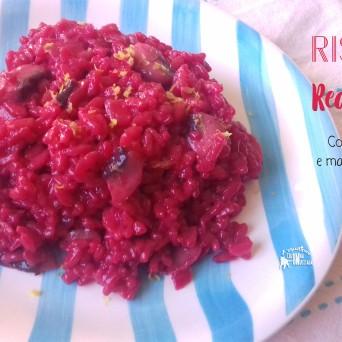 Receita/Recipe: https://arquetipicocozinhainusitada.wordpress.com/2019/02/04/risoto-red-velvet-com-cogumelos-e-manteiga-de-ervas