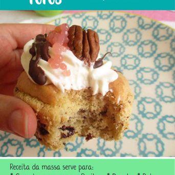 Receita/Recipe: https://arquetipicocozinhainusitada.wordpress.com/2019/03/19/cupcakes-fofos-sem-gluten-e-paleo/