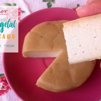 Receita/Recipe: https://arquetipicocozinhainusitada.wordpress.com/2019/03/03/o-melhor-queijo-vegetal-fermentado/