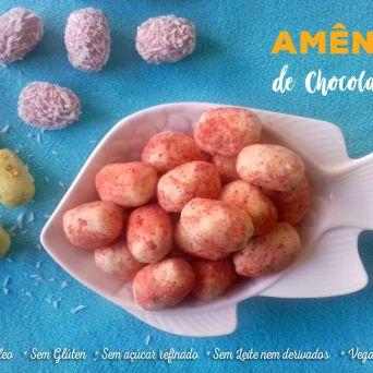Receita/Recipe: https://arquetipicocozinhainusitada.wordpress.com/2019/04/15/amendoas-da-pascoa-de-chocolate-branco/