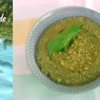 Receita/Recipe: https://arquetipicocozinhainusitada.wordpress.com/2019/07/22/esparregado-de-rama-de-cenoura-sem-laticinios-e-sem-gluten/